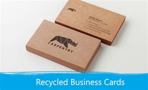Paper Business - recycled business cards print depot