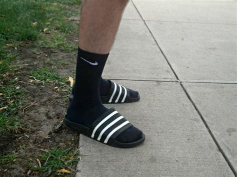 adidas sandals with socks do find it annoying when guys wear socks and sandles