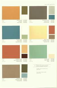 color palette for home 2009 interior paint colors inspire