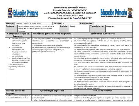 planeaciones sep primaria 2016 gratis pdf planeaciones avanza de primaria bloque 1 2016 2017