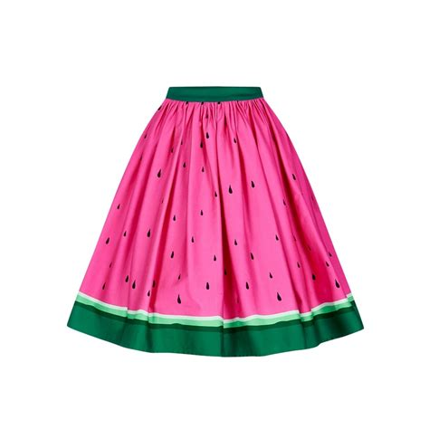 what is swinging skirts collectif mainline jasmine watermelon swing skirt