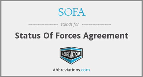 status of forces agreement sofa sofa status of forces agreement