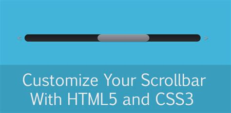 css tutorial scrollbar customize your scrollbars with css3 and jquery code geekz