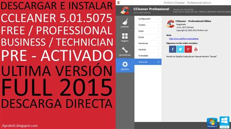 ccleaner youtube 2015 ccleaner 5 01 5075 professional business technician pre