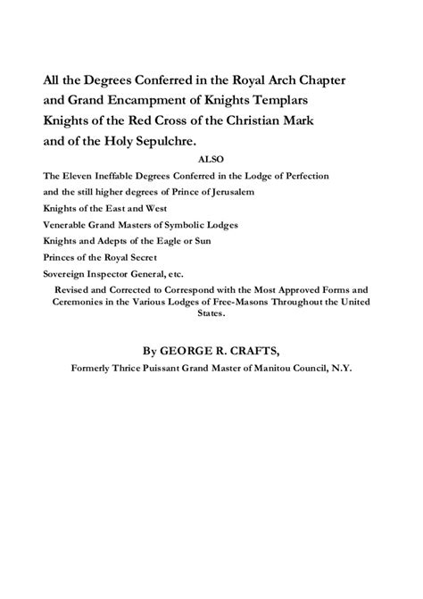 entered apprentice lecture second section freemasonry 088 the morgan expose