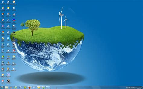 Theme For Windows 7 Windows 7 Theme 3d World By Windowsthememanager On