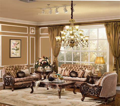 Living Room Collection by The Cleopatra Formal Living Room Collection