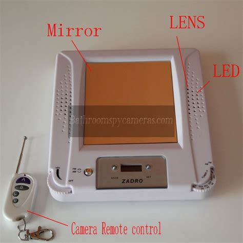 Buy bathroom radio spy camera 1080p hd pinhole bathroom spy camera dvr 16gb motion activated at