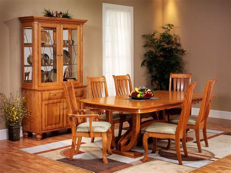 furniture stunning amazing dining room table and chairs lovely amish dining room furniture dominated light brown