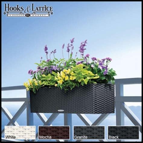 broyhill wicker planter deck rail planter boxes planters for railings hooks