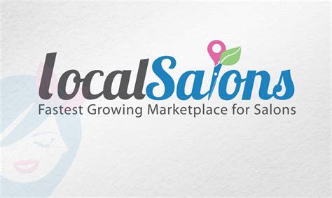logo design description logo design localsalons website designer wordpress