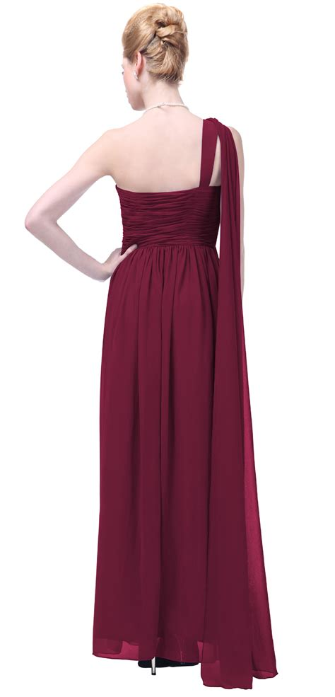 draped formal dress formal dress one shoulder draped bridesmaid wedding party