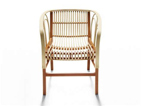 sedie in midollino sedia in midollino con braccioli uragano by de