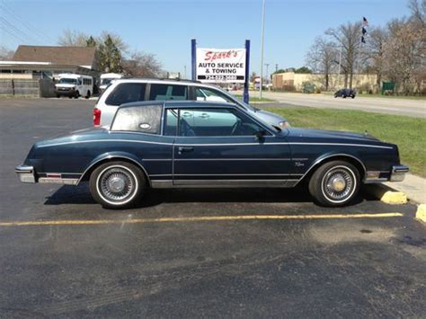 how to sell used cars 1985 buick riviera spare parts catalogs sell used 1985 buick riviera luxury coupe 2 door 5 0l in westland michigan united states for