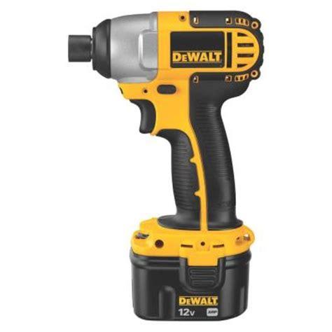 dewalt 12 volt ni cad 1 4 in cordless impact driver kit