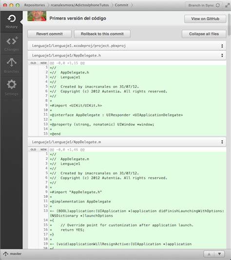 git tutorial xcode integrando xcode4 con github adictosaltrabajo