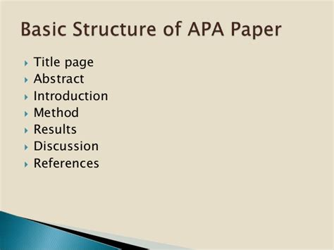 Apa Format 2015 Using Apa Style 2015