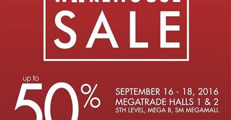 manila shopper sm homeworld warehouse sale at sm
