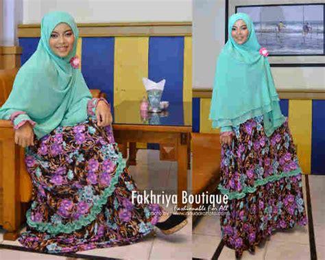 Jilbab Khimar Zafia Zafira Dress Baby Green Baju Muslim Gamis Modern