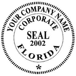 company seal template corporate seals sts supplies