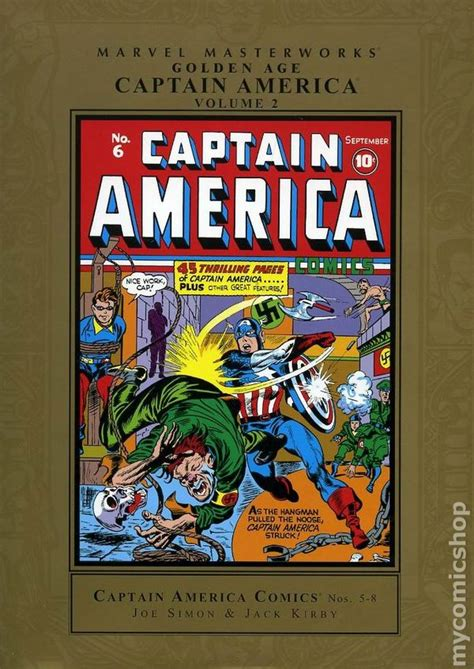 Captain America Sentinel Of Liberty Hc Marvel Comics marvel masterworks golden age captain america hc 2005