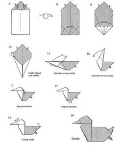 Duck Origami - free coloring pages origami duck 101 coloring pages