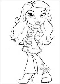 bratz coloring book bratz coloring pages coloringpages1001