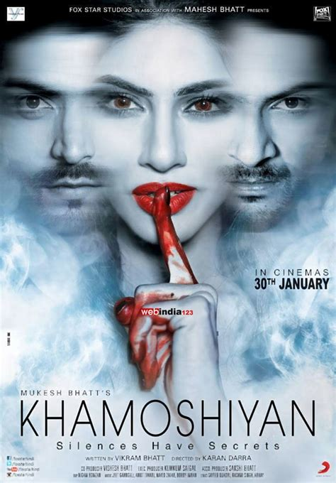 Film India Khamoshiyan | khamoshiyan bollywood movie trailer review stills