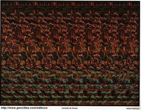imagenes ocultas 3d gratis odiecus imagenes 3d camada de leones