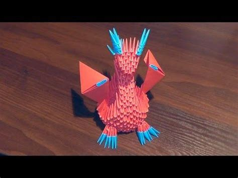 tutorial origami dragon 3d top 1120 ideas about 3d origami on pinterest chinese