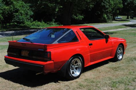 mitsubishi conquest 1987 mitsubishi starion esi r conquest for sale photos
