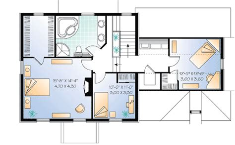 attic bedroom floor plans attic bonus space 2165dr 2nd floor master suite bonus