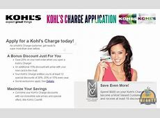 Can you pay Kohl's credit card store card with a credit ... Kohl's Charge Card Login