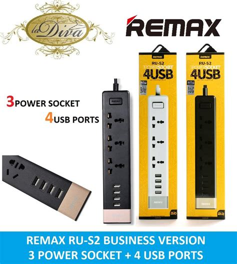 Remax Youth Version Ru S2 4 Ports Usb Hub Charger And 3 Diskon 1 Remax Ru S2 Business Version 3 Power End 9 3 2017 9 15 Pm