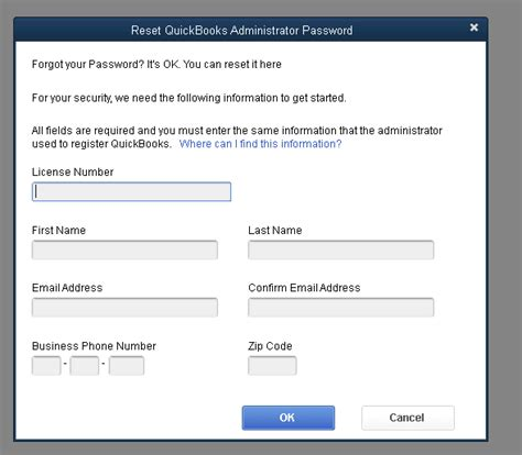 password reset tool intuit how to access quickbooks automated password reset tool