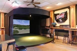 room design simulator indoor golf simulator photo gallery trugolf