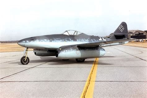the military jets aircraft messerschmitt me 262 all about history