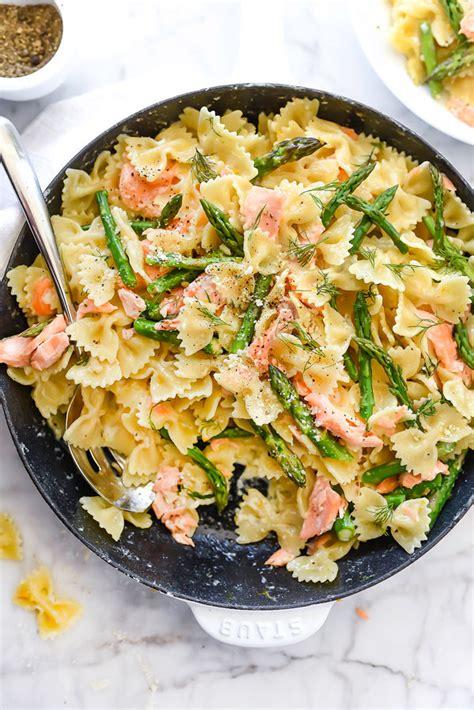 asparagus pasta salad with creamy lemon dressing tidymom creamy asparagus pasta salad