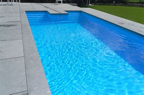 in terrasse eingebetteterter pool 8x4m inkl schacht f 252 r - Terrasse 8x4m
