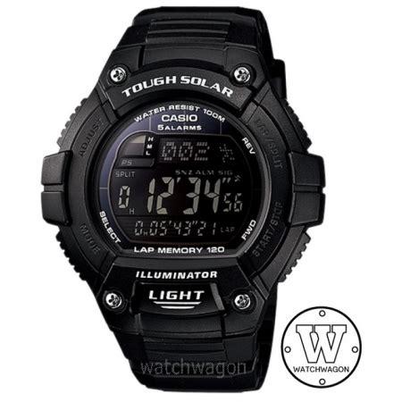 Limited Stock Casio Digital Tough Solar W S220 1b Original casio tough solar digital sports w s220 1b watchwagon