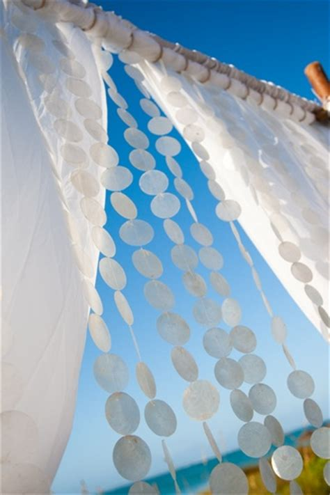 capiz shell curtains capiz shell curtain wedding ideas pinterest