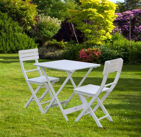 Garden Bistro Chairs Bentley Garden Wooden White Bistro Table And Chairs Sets