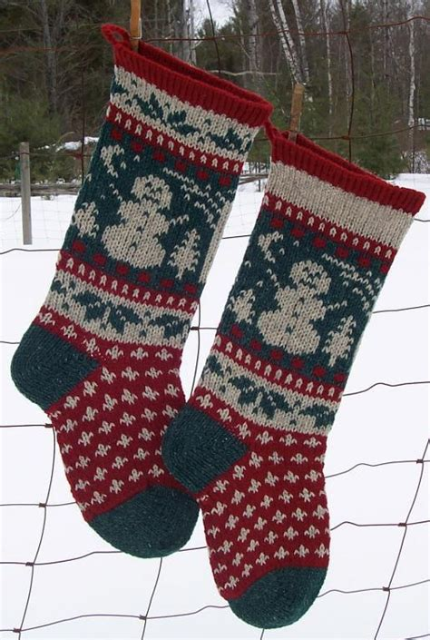 christmas pattern name snowman christmas stocking pattern by anniwoolens craftsy