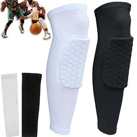 Leg Sleeve Pad Padded Nike Legpad Kneepad Knee Support honeycomb knee pad crashproof antislip basketball leg