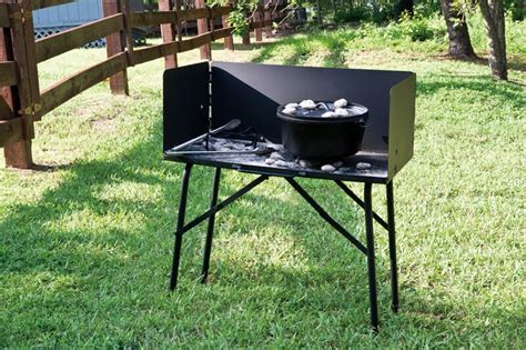 Outdoor Cooking Table by Lodge Manufacturing Outdoor Cooking Table With Screen A5 7