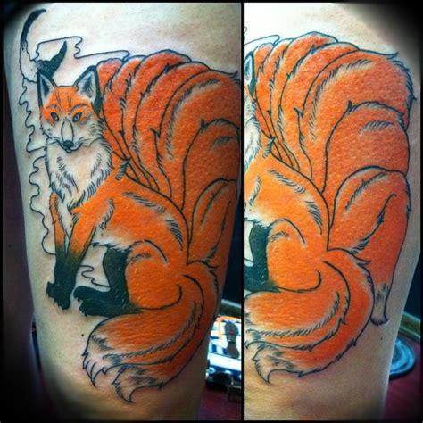 9 tailed fox tattoo nine tailed fox