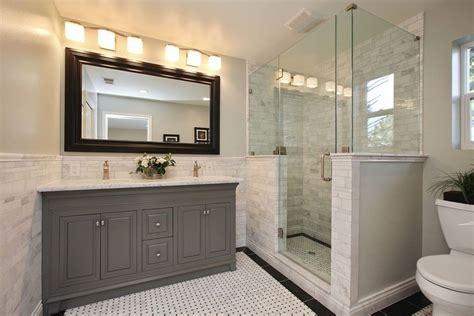Modern Bathroom Vanities Near Me Separate Vanities Bathroom Transitional With Wall Mirrors
