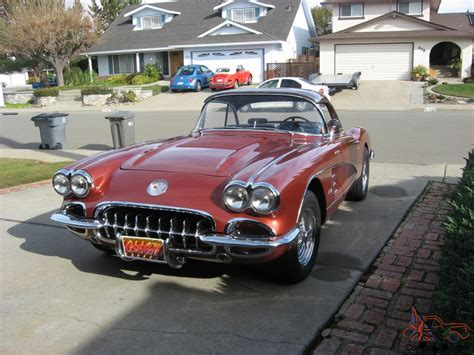 1958 corvette hardtop for sale 1958 chevrolet corvette hardtop convertible