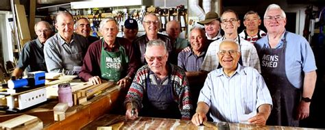 Australian Mens Shed by S Shed Sa South Australia S Shed Association