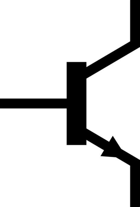 transistor pnp symbol npn transistor circuit symbol clipart best
